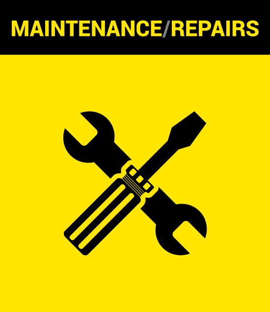 Kiloton Maintenance/Repairs