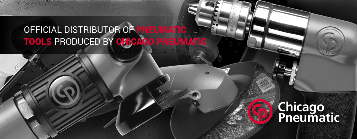 Official distributor of pneumatic tools produced by chicago pneumatic