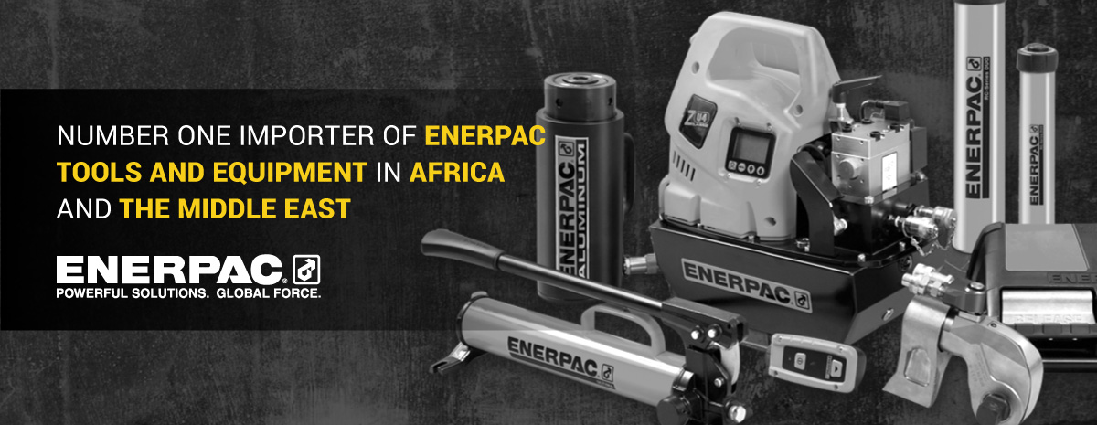 Number one importer of enerpac tool and equipment in africa and the middle east