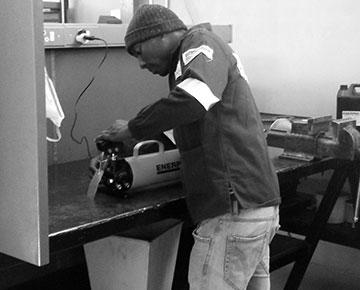 Enerpac Cylinder Repairs, Repair Centre