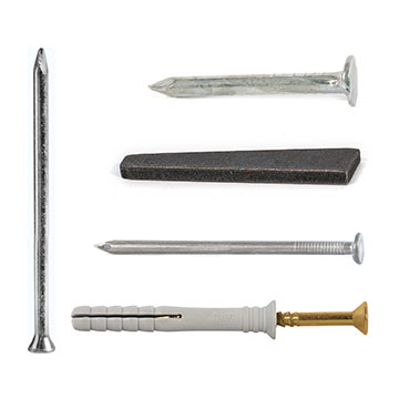 Nails, Ruwag Drill Bits and Fasteners
