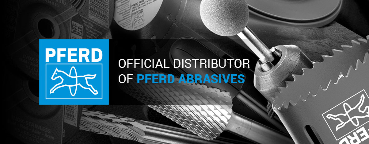 Official distributor of Pferd abrasives