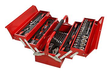 Stier 77 piece tool set