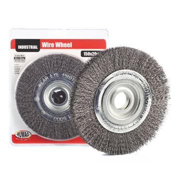 Wire Wheels, Ruwag Drill Bits and Fasteners