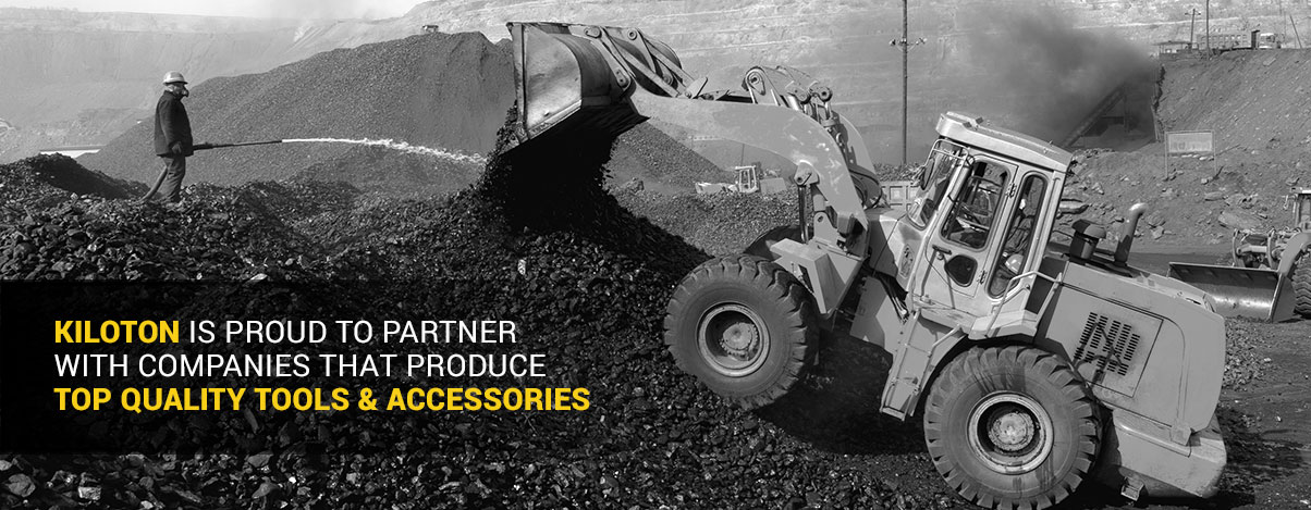 KILOTON IS PROUD TO PARTNER WITH COMPANIES THAT PRODUCE TOP QUALITY TOOLS & ACCESSORIES
