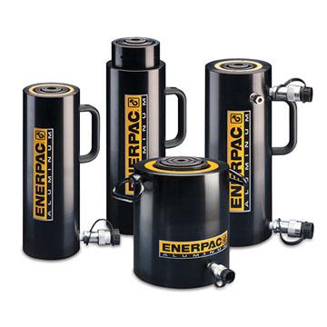 RAC, RACL, RACH, RAR, Enerpac Lightweight Aluminium Cylinders