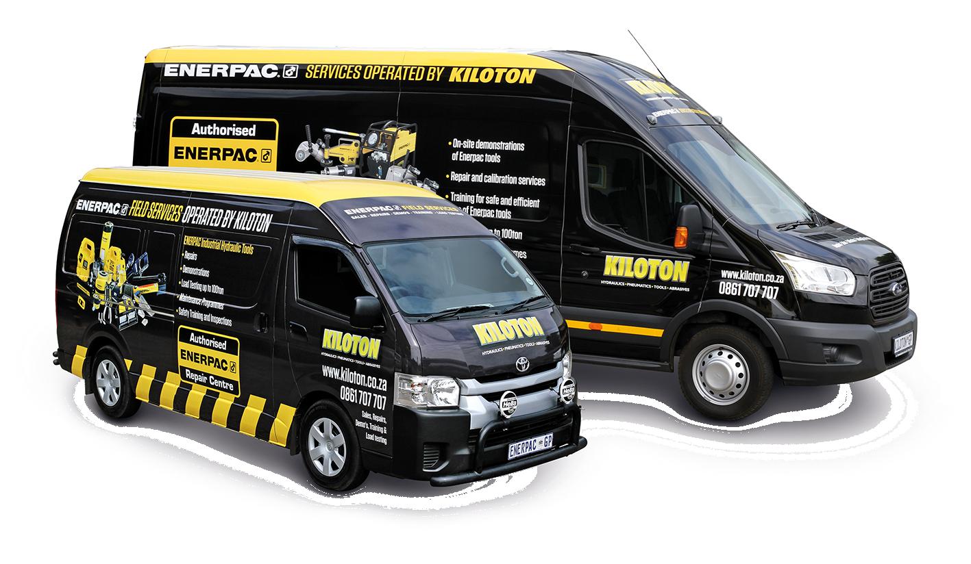 Enerpac Field Service Van