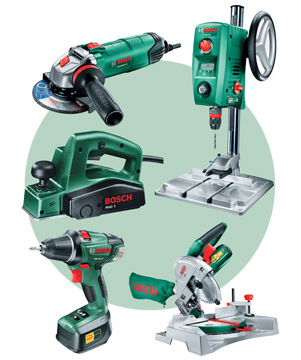 Bosch diy green images