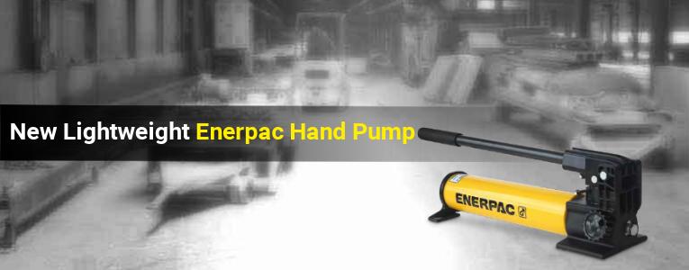 New Banner for Enerpac Lightweight Aluminium Hand Pump