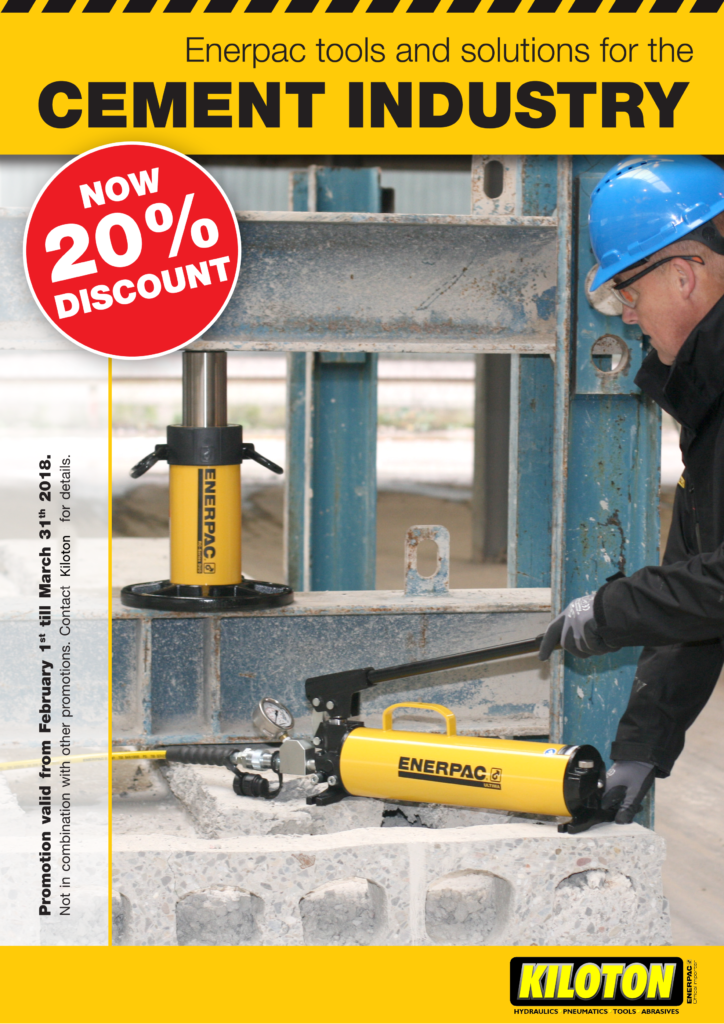 Enerpac Cement Industry Promotion