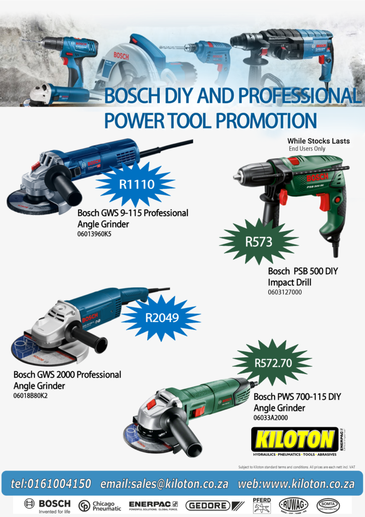 Bosch While Stocks Lasts End User Special