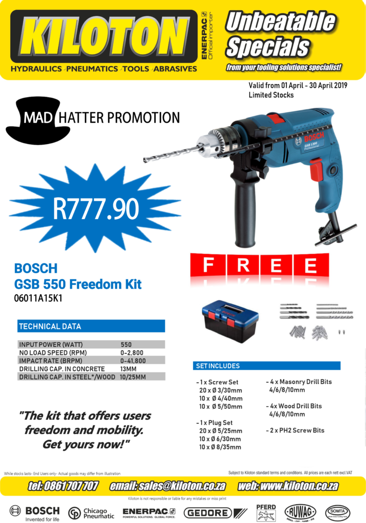Kiloton Mad Hatter Bosch Promotion_End Users Page1