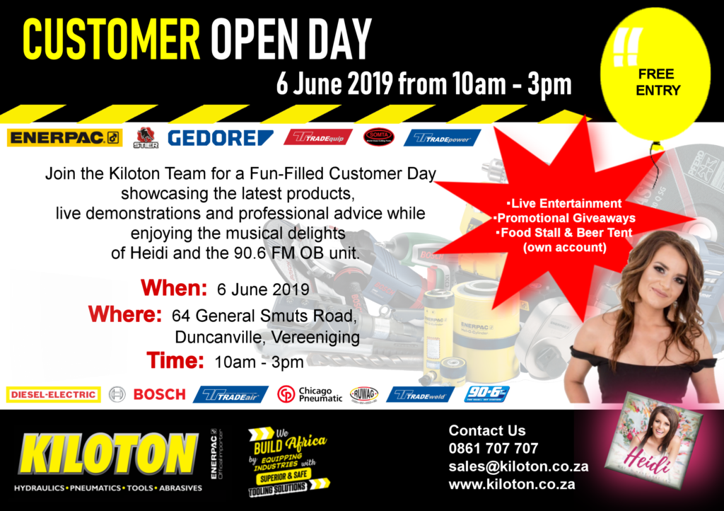 Kiloton Customer Day Invite