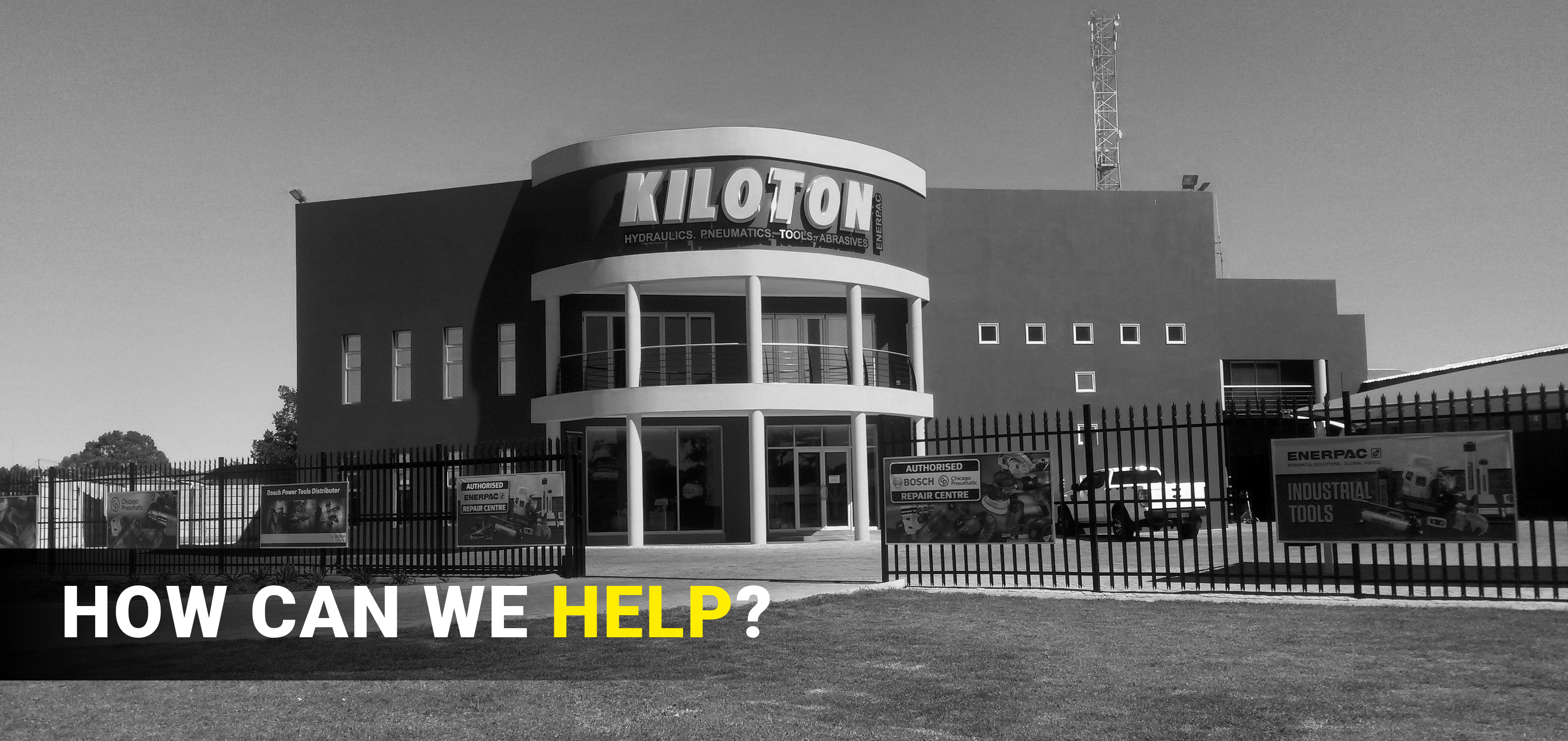 Contact Us-Kiloton-black and white