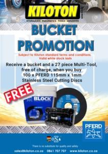 Pferd-Bucket-Promotion