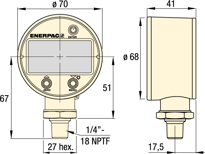DGR-series-Enerpac_digital-Hydraulic-Pressure-Gauge