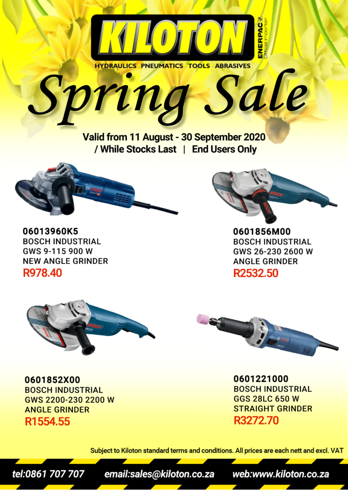 Kiloton Spring Sale valid from 11 Aug. - 30 Sep. 2020