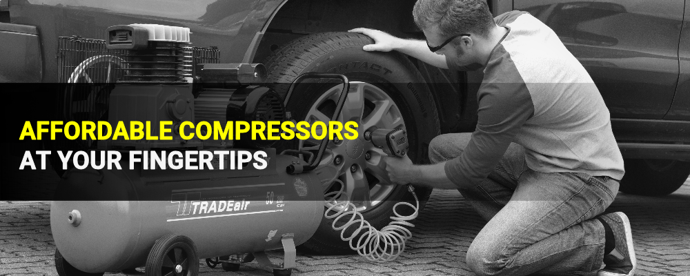 Authorised Distributor of TradeAir Compressors